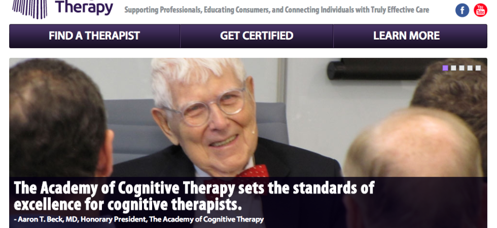 Find a cognitive therapist